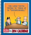 "Dilbert The Word You're Trying to Think of Is ""Indispensable"" 2014 Calendar (Calendar)"