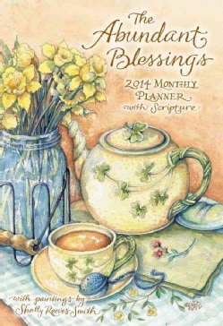 The Abundant Blessings Large Monthly Planner 2014 Calendar (Calendar)