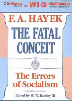 The Fatal Conceit: The Errors of Socialism (CD-Audio)