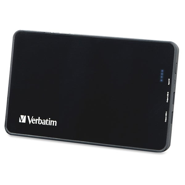 Verbatim Dual USB Power Pack (10000mAh)