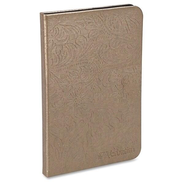 Verbatim Folio Case with LED Light for Kindle - Bronze