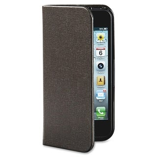 Verbatim Carrying Case (Folio) for iPhone 5/5S - Mocha Brown