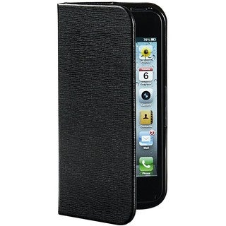 Verbatim Carrying Case (Folio) for iPhone 5/5S - Liquorice Black