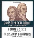 Common Sense / The Declaration of Independence (CD-Audio)
