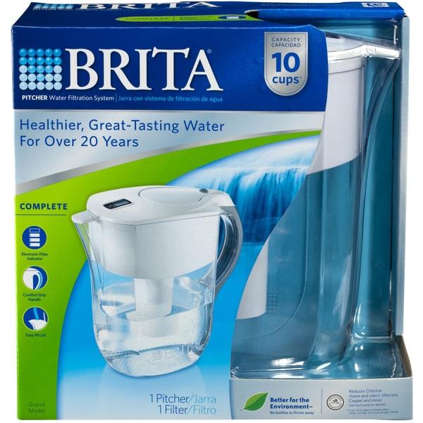 Brita Grand 80-ounce Water Filtration Pitcher