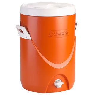 Coleman 5-gallon Orange Beverage Cooler