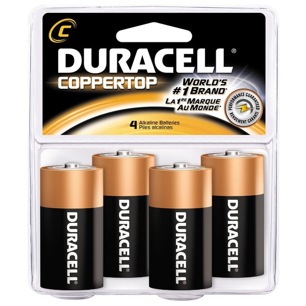 Duracell C4RFP C-size General Purpose Battery (Pack of 4)