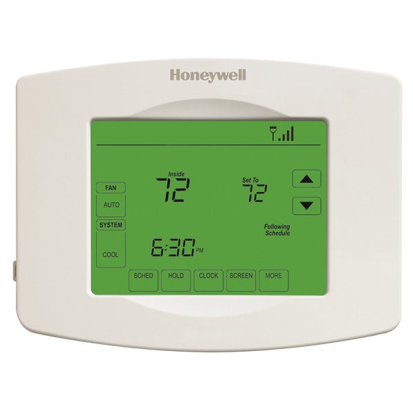 Programmable Wi-fi 7-day Thermostat with Touchscreen