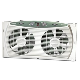 Holmes HAWF3095-U Accutemp Plus Dual Blade Twin Window Fan