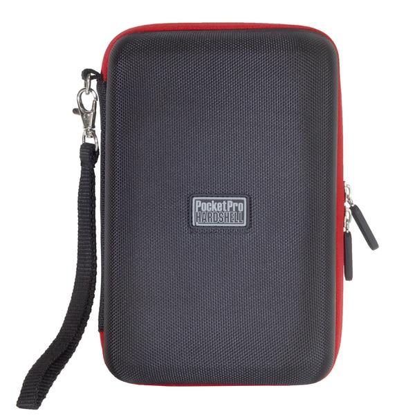 """Digital Treasures PocketPro Carrying Case for 7"""" Tablet - Black, Red"""