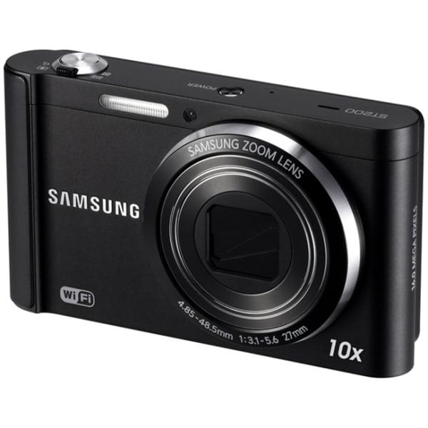 Samsung Smart ST200F 16.1 Megapixel Compact Camera - Black