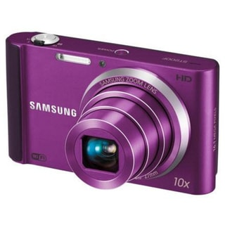Samsung ST200F 16MP Purple Digital Camera