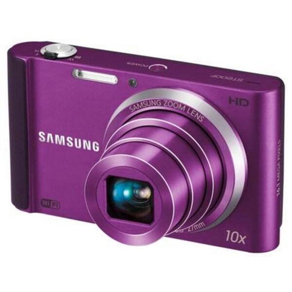 Samsung ST200F 16MP Purple Digital Camera
