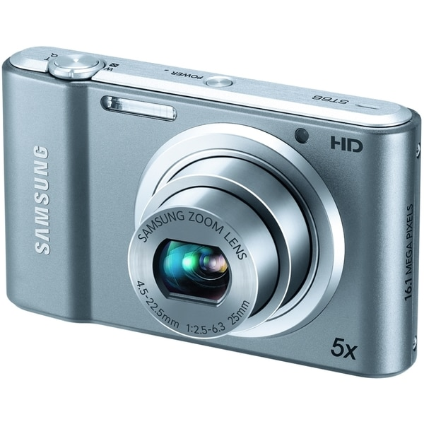 Samsung Style ST66 16.1 Megapixel Compact Camera - Silver
