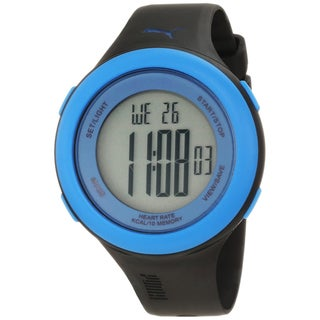 Puma PU910961005 Black/ Blue Heart Rate Monitor