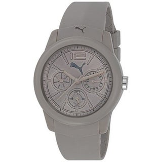 Puma Men's Grey Plastic 'Motor' Watch