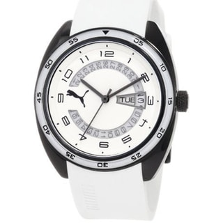 Puma Women's Active White Plastic Analog Quartz Watch
