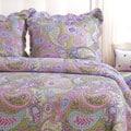 Portia Paisley 3-piece Quilt Set