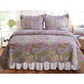 Portia Paisley 3-piece Quilt Set