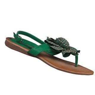 Refresh by Beston Women's 'Kiki-02' Gladiator Sandals