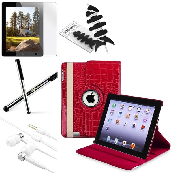 BasAcc Case/ Screen Protector/ Stylus/ Headset/ Wrap for Apple® iPad 3