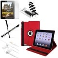 BasAcc BasAcc Case/ Screen Protector/ Stylus/ Headset/ Wrap for Apple iPad 2/ 3/ 4