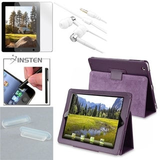 BasAcc Case/ Screen Protector/ Stylus/ Headset/ Plug for Apple iPad 2