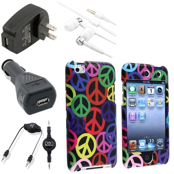 BasAcc Case/ Chargers/ Headset for Apple® iPod Touch Generation 4