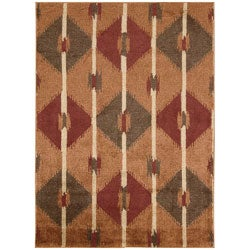 Kindred Diamond Copper Area Rug (7'9 x 10')