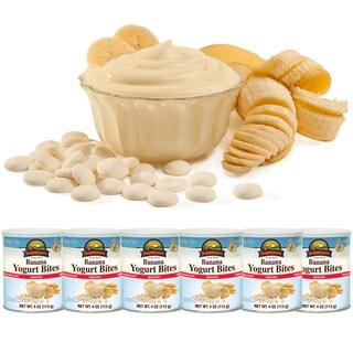 Augason Farms Freeze Dried Banana Yogurt Bites (Pack of 6)