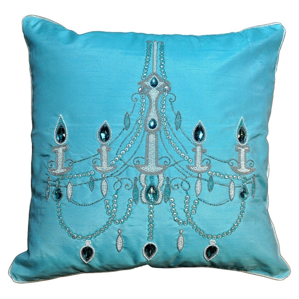 Overstock Decorative Throw Pillows : Chandelier Decorative Pillow - Overstock Shopping - Great Deals on Cottage Home Throw Pillows