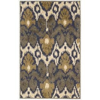 Kindred Ikat Print Multicolored Area Rug (7'9 x 10')