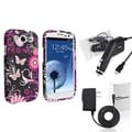 BasAcc Case/ Travel Charger/ Car Charger for Samsung Galaxy S III/ S3