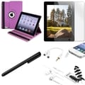 BasAcc BasAcc Case/ Protector/ Headset/ Splitter/ Stylus for Apple iPad 2/ 3/ 4