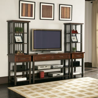 Cabin Creek 3-piece Entertainment Center