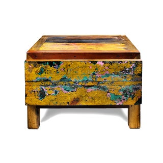 Reclaimed Wood One Drawer Night Stand
