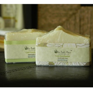 Cool Eucalyptus Essential Oil Handcrafted Soap Duo