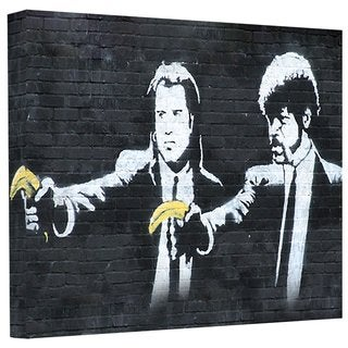Art Wall 'Pulp Fiction' Gallery Wrapped Canvas