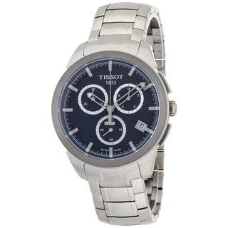 Tissot Men's Titanium Blue Dial Chronograph Watch