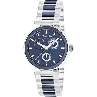 Kenneth Cole Women's Blue Ceramic Bracelet Watch
