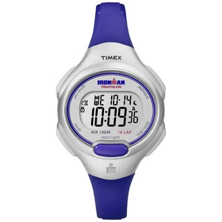 Timex Women's Ironman Traditional 10-Lap Purple Resin Watch