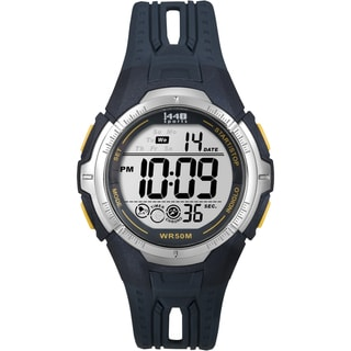Timex Men's Sports Digital Navy Blue Resin Full-Size Watch