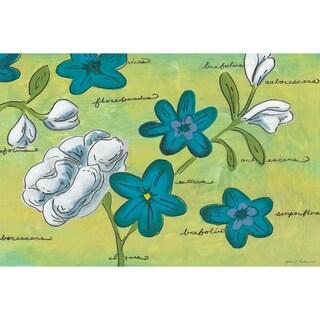 Jamie Dennis 'Floral Note I' Paper Print (Unframed)