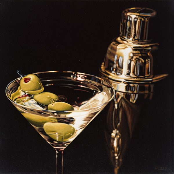 Ray Pelley 'Extra Olives' Paper Print (Unframed)