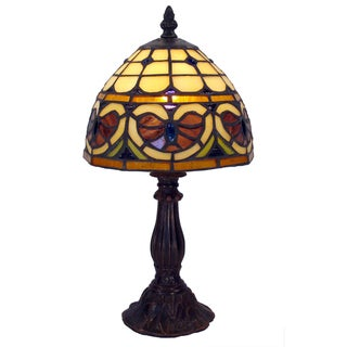 Tiffany-style Warehouse of Tiffany Mosaic Table Lamp