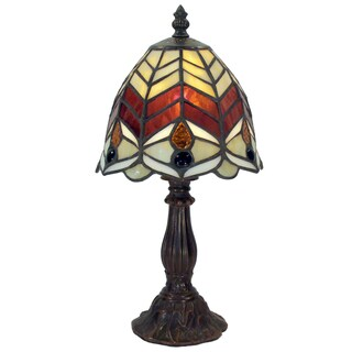 Tiffany-style Warehouse of Tiffany Charlyn Table Lamp