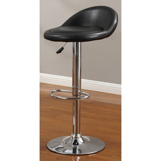 Black Swivel Barstool