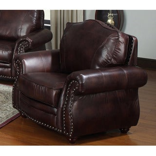Steven Brown Bonded Leather Chair