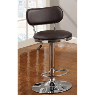 Barbz Brown Swivel Barstool