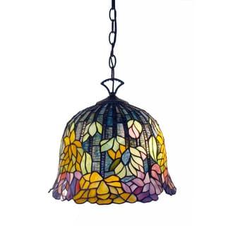 Tiffany-style Brittney Hanging Lamp